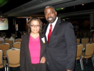 Teresita Glasgow & Les Brown