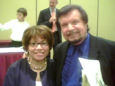Teresita Glasgow and Mike Murdock
