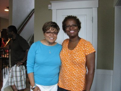 Teresita Glasgow & Minister Kimberly Savage
